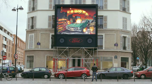 Viral Marketing Video by Ford To Solve Bad Parking in Paris