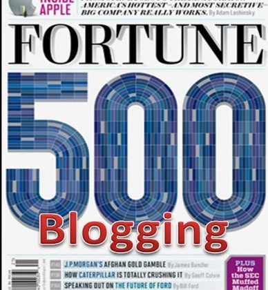 Blog Like the Pros: How Small Startup Businesses Can Blog Like Top Fortune 500 Companies