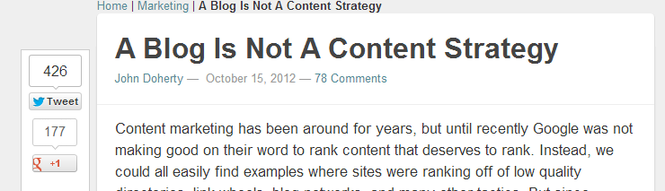 Thought Provoking Content John Doherty