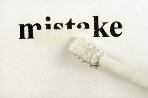 learn from mistakes in blogging